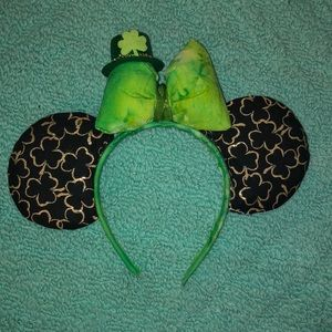 St. Patrick's Day Minnie Mouse Ears